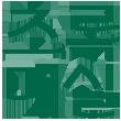 웅진식품 브랜드 중 주스 카테고리에 있는 '초록매실' 브랜드를 대표하는 로고 이미지 입니다.